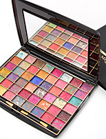 1Pcs Brand  48 Colors Eyeshadow Palette Matte Earth Color 3D Eye Shadow Glitter Eyeshadow Palette Maquillage