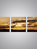 Stretched Canvas Prints Sunset Sky Picture Print Contemporary Art for Livingroom Decoration