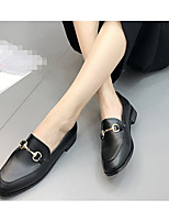 Women's Boots Summer T-Strap Rubber Casual Low Heel Black