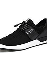 Для мужчин Кеды Удобная обувь Мотоциклетные ботинки Светодиодные подошвы Обувь для дайвинга Трикотаж Натуральная кожа Весна Осень