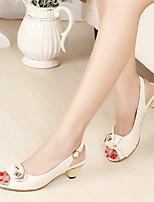 Damen-Loafers & Slip-Ons-Outddor Lässig-Mikrofaser-Niedriger Absatz-Komfort-