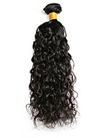 Natural Color Hair Weaves Peruvian Texture Water Wave 12 Months 1 Piece hair weaves