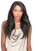 10-26inch Lace Front Wigs Silk Straight Human Hair Lace Wigs For Women