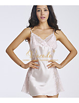 Women's Lace Lingerie Nightwear,Lace Solid-Thin Polyester Women's