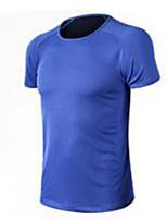 Men's Soccer Sweatshirt Breathable Comfortable Summer Solid Polyester Football/Soccer White Orange Peachblow Green Blue