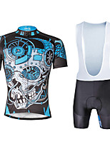 Cycling PaladinSport Men Shirt  Straps Shorts Suit BKT 738