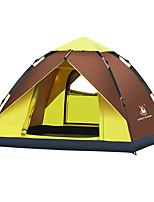 3-4 Pessoas Tenda Único Tenda Automática Um Quarto Barraca de acampamento 2000-3000 mm Fibra de Vidro OxfordÁ Prova de Humidade Prova de