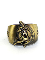 Inspired by Cosplay Zhu Geliang Anime Glory Of The King Ring Golden Alloy I.D 19MM