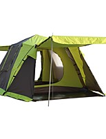 Double One Room Camping TentCamping Traveling-Green