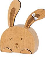 Music Box Rabbit Novelty & Gag Toys Wood Unisex
