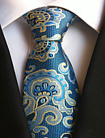 11 Kinds Polyester Silk Jacquard Tie Necktie for Men