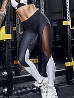 Femme Mosaïque Polyester Croisé Legging