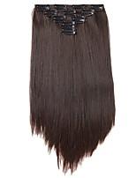 На клипсе синтетический Наращивание волос 180 Наращивание волос