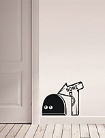 AYA DIY Funny Wall Stickers Rat Cave