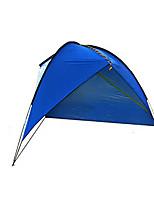 5-8 personnes Abri et Toile Unique Tente pliable Une pièce Tente de camping 1500-2000 mm Fibre de verre OxfordRésistant à l'humidité