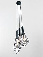 Luzes Pingente ,  Contemprâneo Tradicional/Clássico Retro Lanterna Rústico Pintura Característica for Estilo Mini MetalSala de Estar