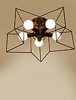 Op plafond bevestigd ,  Rustiek/landelijk Galvanisch verzilveren Kenmerk for LED Metaal Woonkamer Slaapkamer Eetkamer Studeerkamer/Kantoor