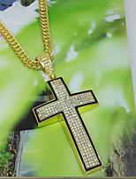 Жен. Ожерелья с подвесками Базовый дизайн Золотой Серебряный Бижутерия Для День рождения Повседневные 1шт