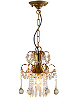 LightMyself Pendant Light Modern/Contemporary Traditional/Classic Rustic/Lodge Tiffany Vintage Retro Country Painting Feature for Crystal LED Metal