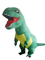 Costume Inflatable Dinosaur Cosplay Costumes Halloween Props Cosplay Movie Cosplay Solid Halloween Christmas Carnival Unisex Polyester