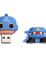 Novo cartoon criativo americano capitão usb 2.0 8gb flash drive u memory stick disco