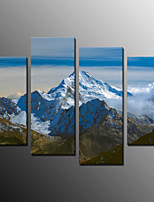 Photographic Print Landscape Modern,Four Panels Canvas Any Shape Print Wall Decor For Home Decoration