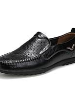 Men's Loafers & Slip-Ons Hole Shoes Formal Shoes Comfort Cowhide Spring Summer Casual Office & Career OutdoorHole Shoes Formal Shoes