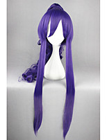Long VOCALOID-Gakupo Purple Curly Anime 36inch Ponytail Cosplay Wigs CS-172A