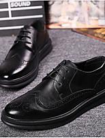 -Для мужчин-Свадьба-Полиуретан-На плоской подошве-Удобная обувь-Мокасины и Свитер