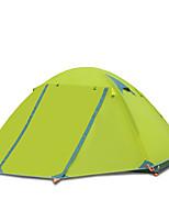 LYTOP/飞拓 2 personnes Tente Double Tente pliable Une pièce Tente de camping Aluminium OxfordEtanche Respirabilité Résistant aux