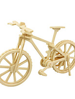Jigsaw Puzzles 3D Puzzles Building Blocks DIY Toys Bicycle Wood Model & Building Toy