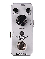 Mooer Triangle Buff Fuzz Guitar Effect Pedal Legendary Rich Creamy/Violin-like Sound/Nice Fuzz Tone Full Metal Shell True Bypass