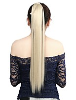 Neitsi 1Pcs 115g Wrap Around Ponytail Hair Extensions Striaght Synthetic Hairpieces M24/613#