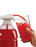 Novedad eléctrico automático jugo cóctel dispensador de agua beber paja fruta vegetal automático bebida chupar