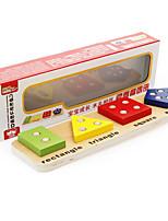 Обучающая игрушка Игры с последовательностью Для получения подарка Конструкторы Квадратный Круглый Треугольник Дерево 2-4 года 5-7 лет