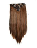 A Clipser Synthétique Extensions de cheveux 180 Extension des cheveux