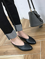 Women's Sneakers Spring Light Soles PU Casual Almond Black