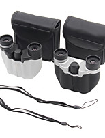 10X22mm Binoculars High Definition Night Vision Wide Angle BAK4 Fully Coated Dimlight 107m/1000M Central Focusing