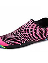 Women's Athletic Shoes Spring Fall Comfort Microfibre Casual Flat Heel Lace-up Royal Blue Fuchsia Black Walking