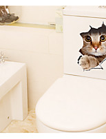 3DThe Kitten Decorative Wall Stickers