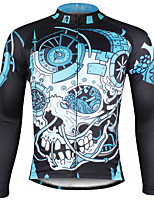Ilpaladin Sport Men Long Sleeve Cycling Jerseys  CX738