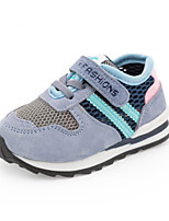 Girls' Athletic Shoes Spring Fall Comfort Tulle Athletic Casual Flat Heel Blushing Pink Blue