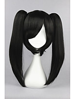 Kagerou Project-Actor Black Anime 18inch Cosplay Ponytails Wig CS-167D