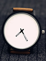 Women's Fashion Watch Chinese Quartz Leather Band Black Brown Brown Coffee Black White