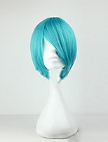 Capless 30cm Short Straight Man High Quality Synthetic Wigs Style  Male Cosplay Wig 4 Colors