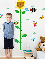 60-160Cm Sunflower Height Stickers Children's Room Wall Stickers