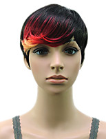 Capless Synthetic Muti Color High Temprature Fiber Woman Hair Wig