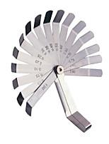 Sata щуп 16 штук измерительный инструмент 0,05-1,00 мм