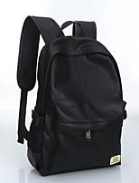 Unisex PU Casual Backpack All Seasons