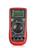 Uni-t® ut890c lcd цифровой мультиметр измеритель напряжения переменного тока портативный amp / ohm / volt test meter мультиметр для
